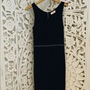 Alythea Zippered Midi Dress